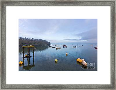 Carrick Roads From Mylor Harbour Framed Print by Terri Waters
