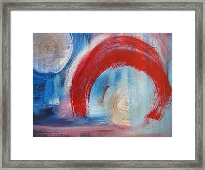 Arrival Time Framed Print by Lindie Racz