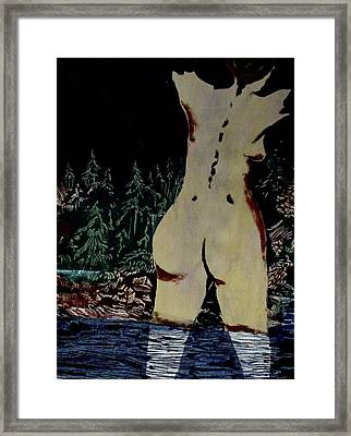 Arrived Framed Print by Patricia Bigelow