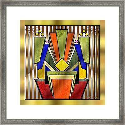 Art Deco 26 - Chuck Staley Framed Print by Chuck Staley