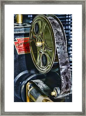 Art Deco Movie Projector Framed Print by Paul Ward