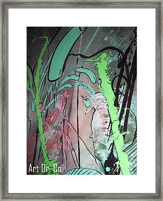 Art Dr Co. Framed Print by Jose J Montee Montejano