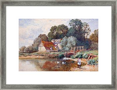 Arthur Claude Strachan Framed Print by MotionAge Designs