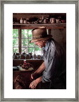 Artist - Potter - The Potter IIi Framed Print by Mike Savad