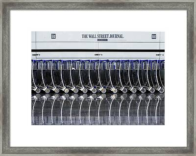 As A Matter Of Fact Framed Print by Wayne Pearson