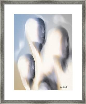 As If I Were Dead Framed Print by Bob Orsillo