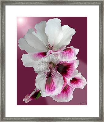 As One Framed Print by Torie Tiffany