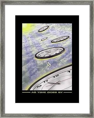 As Time Goes By Framed Print by Mike McGlothlen