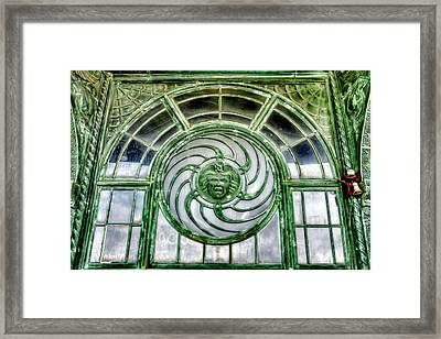 Asbury Park New Jersey Casino And Carousel Framed Print by Geraldine Scull