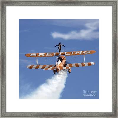 Ascending Framed Print by Angel  Tarantella