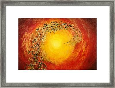 Ascending Light Framed Print by Tara Thelen - Printscapes