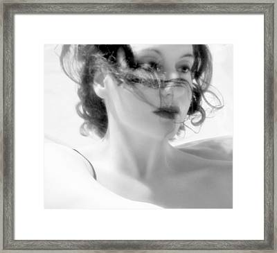 Ascension - Self Portrait Framed Print by Jaeda DeWalt