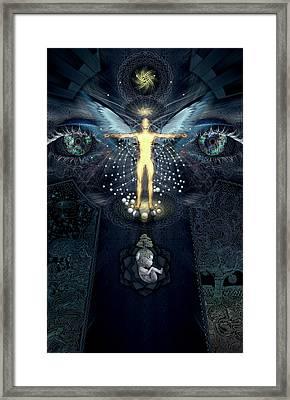 Ascension And Rebirth Framed Print by Alex Polanco