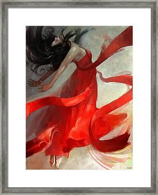 Ascension Framed Print by Steve Goad