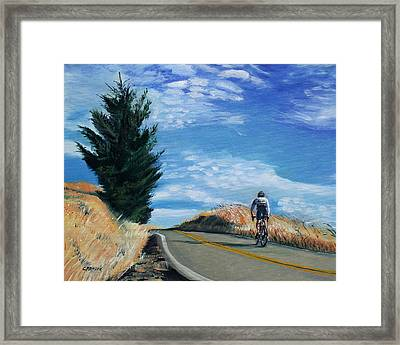 Ascent Framed Print by Colleen Proppe