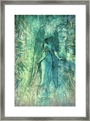 Ascending Angel 2016 Framed Print by Jack Zulli