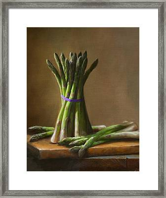 Asparagus  Framed Print by Robert Papp