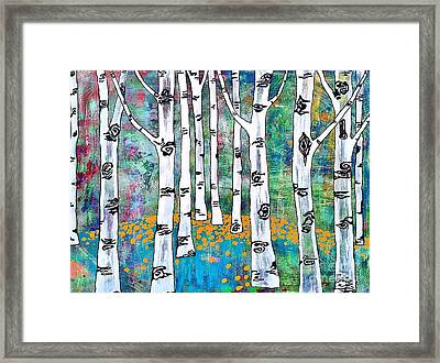 Aspen Bright Framed Print by Amy Sorrell
