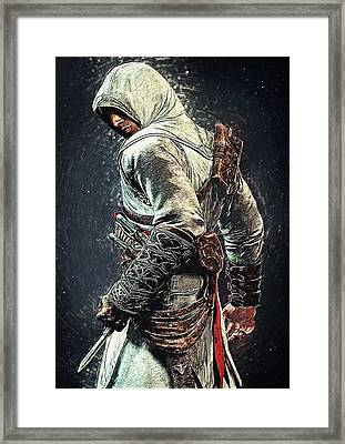 Assassin's Creed - Altair Framed Print by Taylan Soyturk