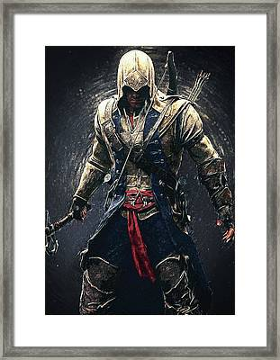 Assassin's Creed - Connor Framed Print by Taylan Soyturk