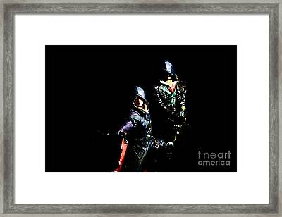 Assassin's Creed - The Frye Twins Framed Print by David Greatorex