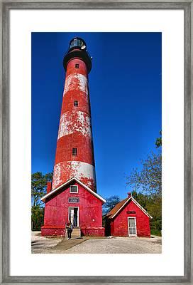 Assateague Light House IIi Framed Print by Steven Ainsworth