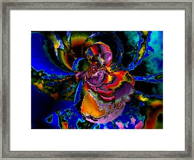 Assault By The Blues Framed Print by Claude McCoy