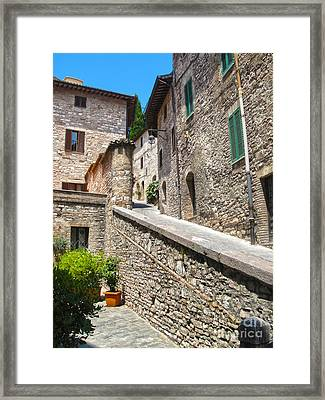 Assisi Italy Framed Print by Gregory Dyer