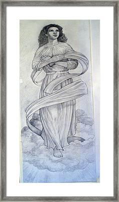Assumption Of The Virgin Framed Print by Patrick RANKIN