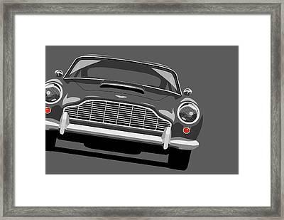Aston Martin Db5 Framed Print by Michael Tompsett