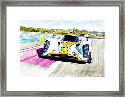 Aston Martin Vantage 009 Framed Print by Michael Cleere