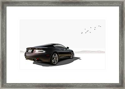 Aston Martin Virage Framed Print by Douglas Pittman