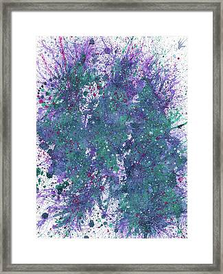 Astral Travels To The Parallel Worlds #566 Framed Print by Rainbow Artist Orlando L aka Kevin Orlando Lau