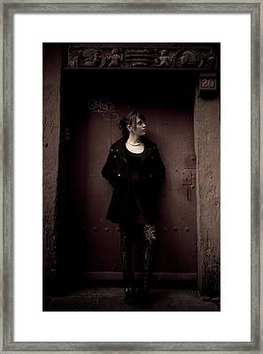 At 20 Fashion Street  Framed Print by Loriental Photography