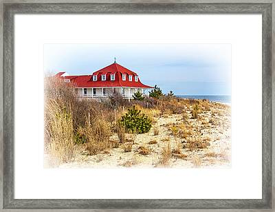 At Cape May Point Framed Print by Carolyn Derstine
