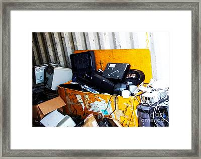 At Other End Of Technology  Framed Print by Steven Digman