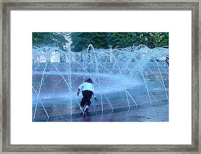 At Play Framed Print by Suzanne Gaff