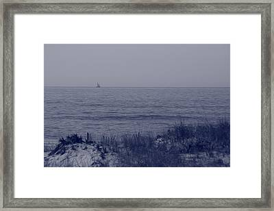 At Sea Framed Print by Christopher Kirby