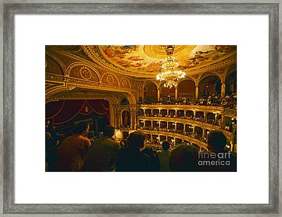 At The Budapest Opera House Framed Print by Madeline Ellis