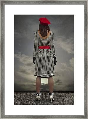 At The Edge Framed Print by Joana Kruse
