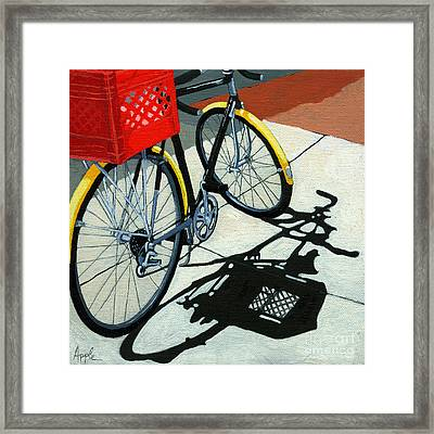 At The Grocery Framed Print by Linda Apple
