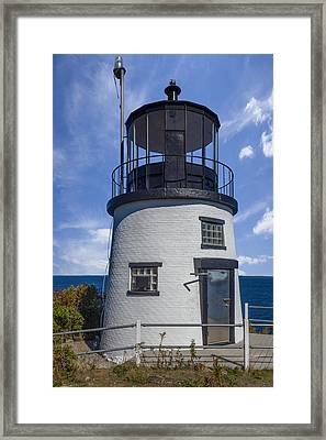 At The Top Framed Print by Capt Gerry Hare