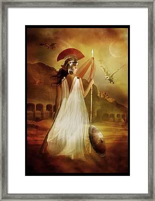Athena Framed Print by Mary Hood