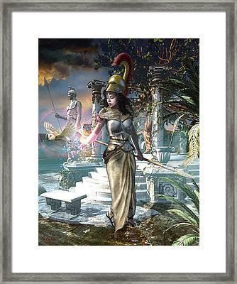 Athena Framed Print by Kurt Miller