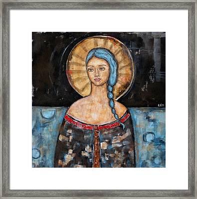 Athena Framed Print by Rain Ririn