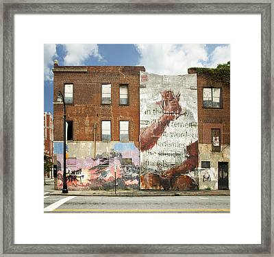 Atlanta - The Silence Of Our Friends Framed Print by Steven  Michael