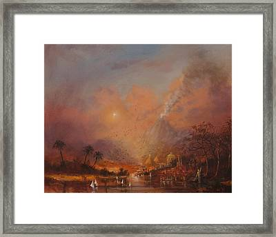 Atlantis The Lost Continent Framed Print by Tom Shropshire