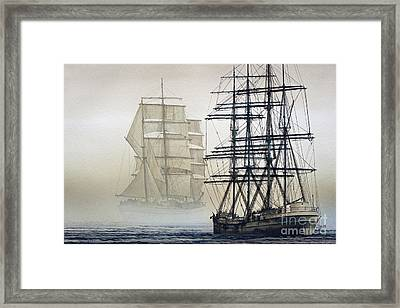 Atlas And Inverclyde Framed Print by James Williamson
