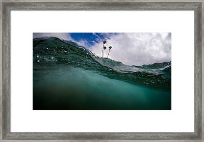 Atmospheric Pressure Framed Print by Sean Foster