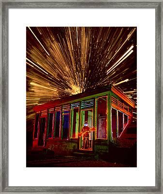 Atomic Man Framed Print by Garry Gay